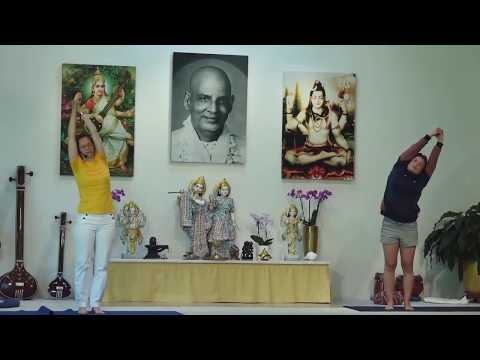 Standing Yoga - Intermediate Yoga Class - 60 Minutes - Dynamic and Standing with Kaivalya