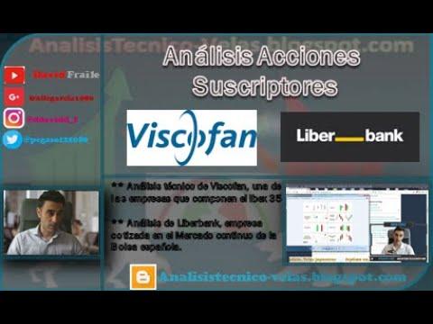 Video Análisis con David Fraile: Análisis Técnico Viscofan y Liberbank