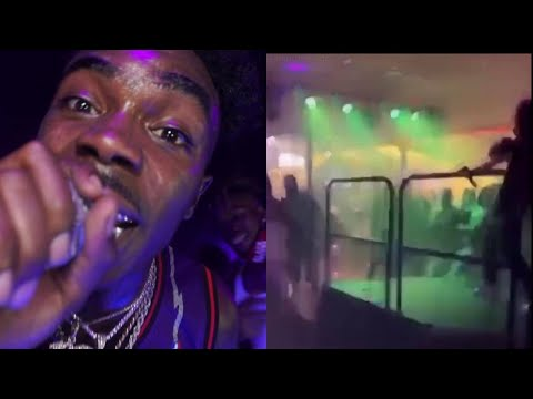 Breaking News : Gucci Mane's Artist Foogiano Concert In SC Ends In Wild After Someone Tries Taking His Chain