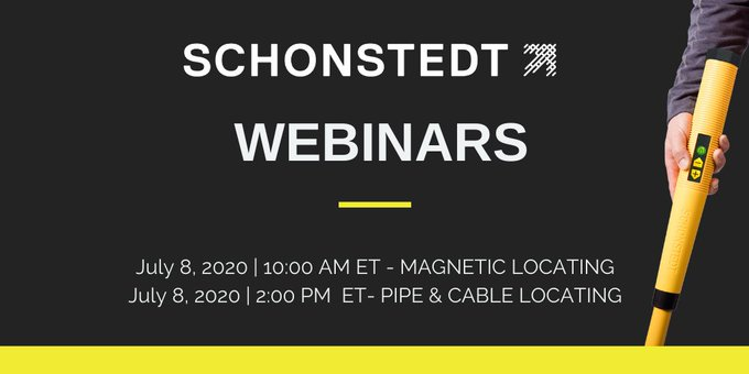 Magnetic Locating Webinar with Schonstedt