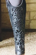 Leg cover front view