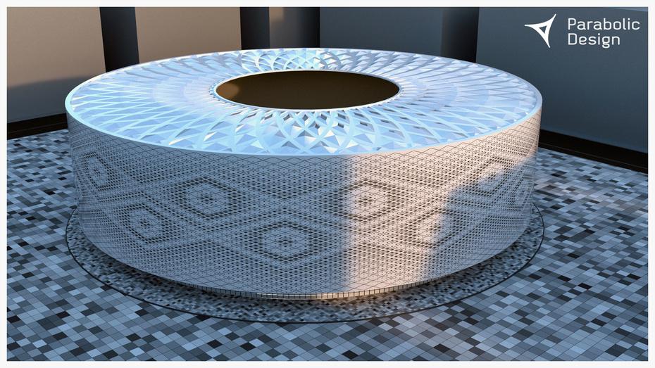 Parametric Study of Al Thumama stadium in Qatar - 03