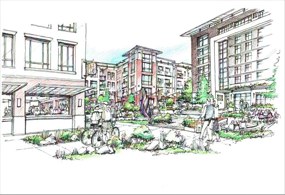 Beall's Third Masterplan Courtyard