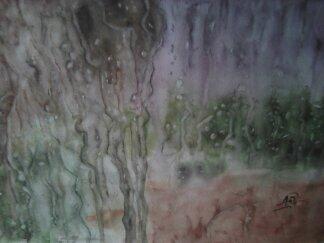 La pluie sur les carreaux....