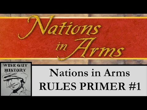 Nations in Arms: Valmy to Waterloo - Rules Primer #1