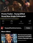 """Dailymotion... """"In Da Club"""" Promo Trailer for Young Gifted Hit Single Poltergeist"""