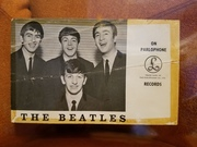 1963 Parlophone promo card (front)