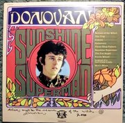 Donovan Sunshine Superman signed and inscribed LP