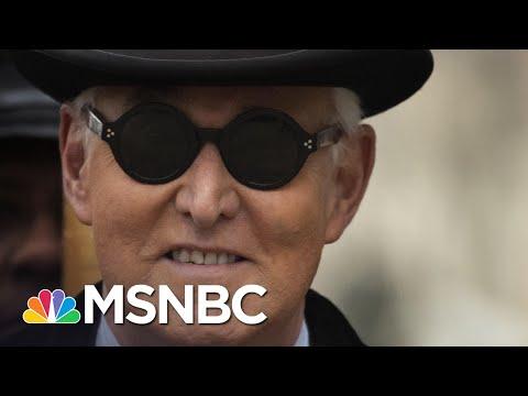 Trump Commutes Sentence Of Key Russia Scandal Figure Roger Stone | Rachel Maddow | MSNBC