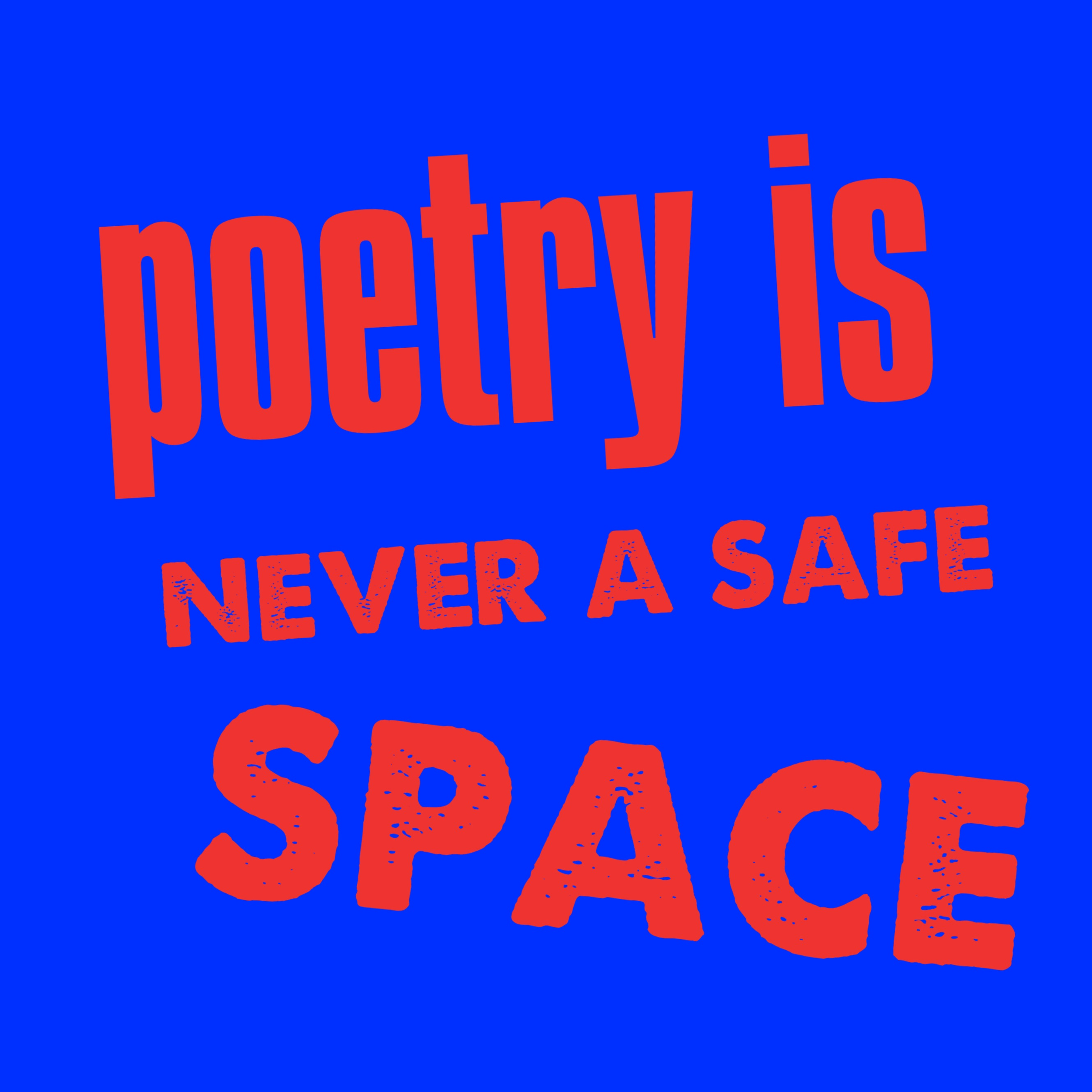Poetry is space