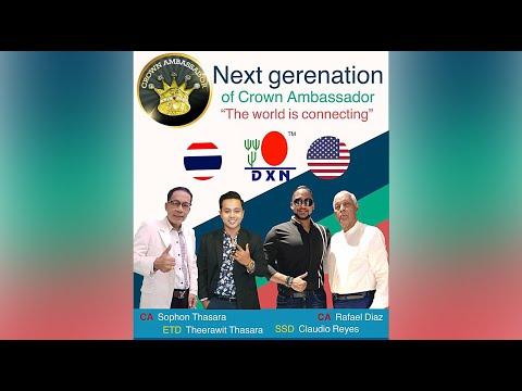 Rafael Diaz dxn / Next garenation of Crown Ambassador move DXN to Number 1