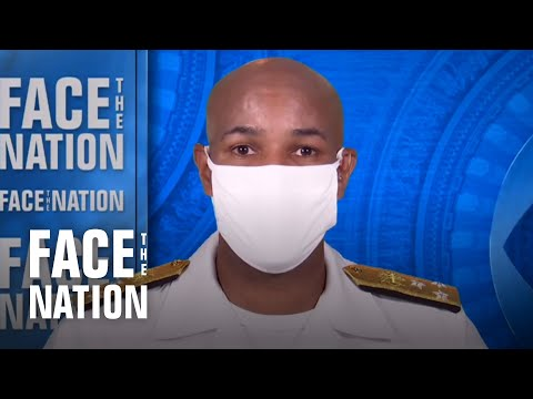 """Surgeon general says administration """"trying to correct"""" earlier guidance against wearing masks"""