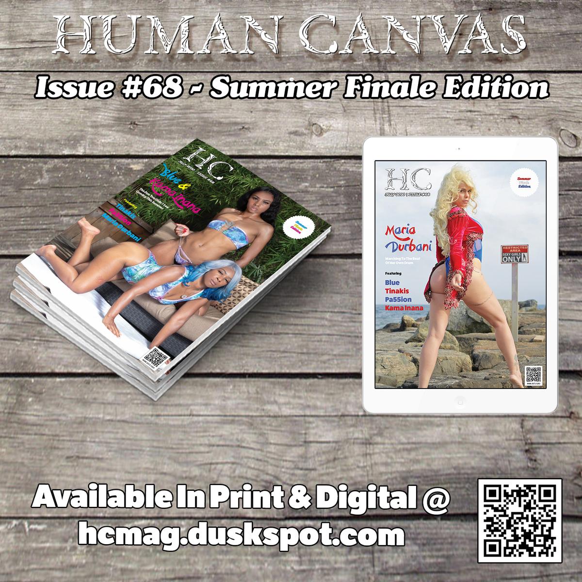 Human Canvas Magazine - Issue #68