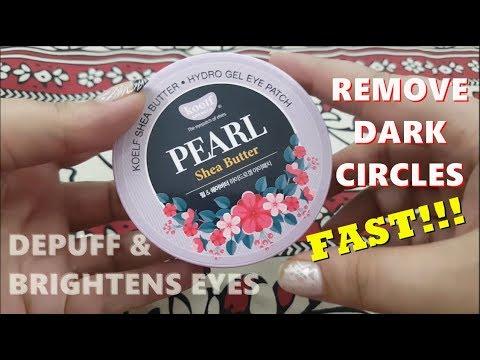 PETITFEE - koelf Pearl & Shea Butter Eye Patch 60pcs | Korean Skincare
