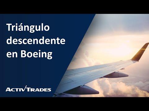 Video Análisis: Triángulo descendente en Boeing