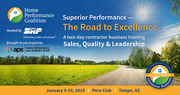 2019 Superior Performance - The Road to Excellence - Contractor Business Training