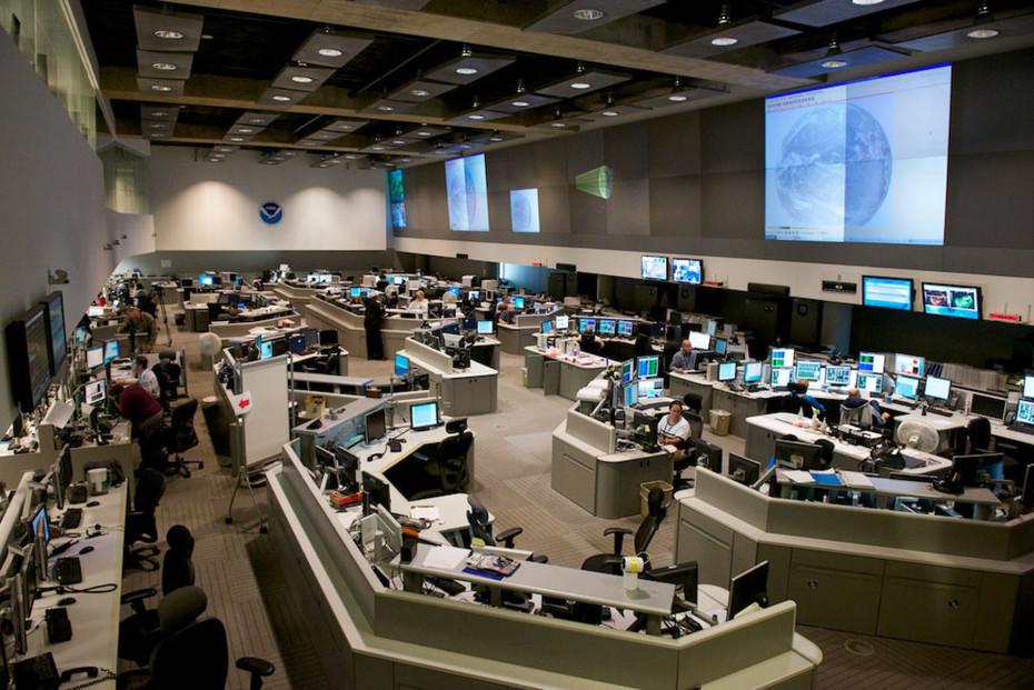 NOAA Mission Control Center