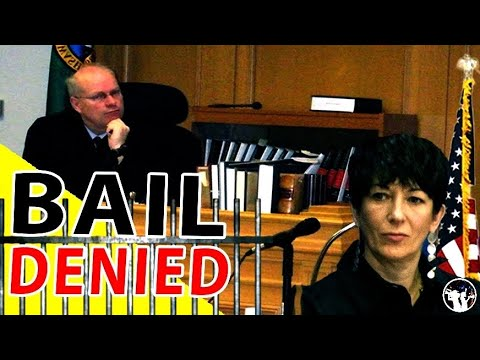 BREAKING: Ghislaine Maxwell Denied Bail! The Important Details You CAN'T Miss