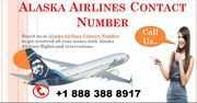 Dial Alaska Airlines phone Number + 1 888 388 8917 toll-free