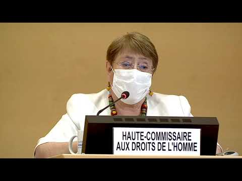 Opening statement by HC Michelle Bachelet at 44th session of the Human Rights Council.