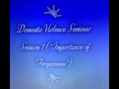 "Domestic Violence Series Session 1 (""Program Overview & Introduction"") on 7/6/2020"