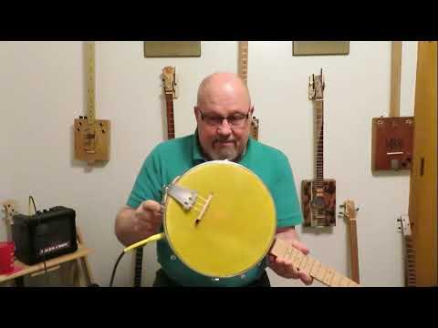 3 String Banjo Demo