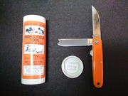 350217 GEC FF Calf Pen-One Arm-Orange Delrin