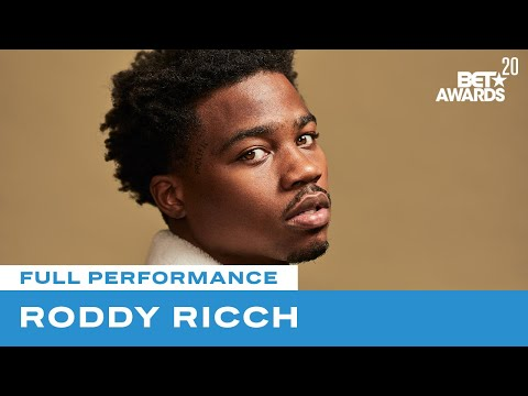 """Roddy Ricch Performs """"High Fashion"""" & """"The Box"""" Live!   BET Awards 20"""