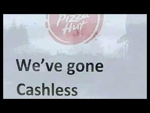 CASHLESS! Pizza Hut & Walmart Self-Check Outs Ditch Cash As Nationwide Coin Shortage Grows!
