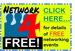 Find FREE networking events - mostly online too, so no travel time (or expense!) What's not to like!