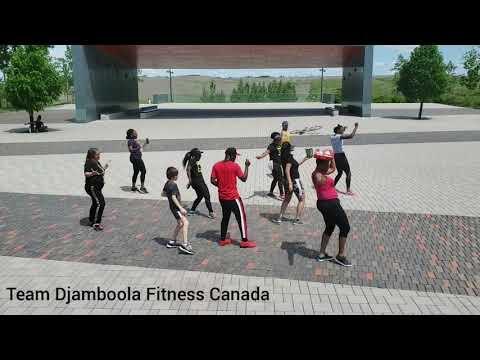 Jerusalema - Master KG, demo de la famille Djamboola Fitness du Canada