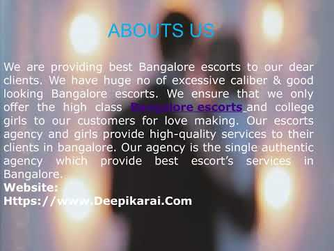 Bangalore Escorts services