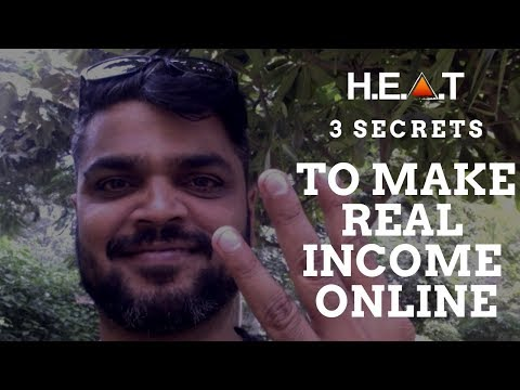 3 Secrets to Make Real Income In Your Online Business   Affiliate Secrets   HighEndAffiliateTraining