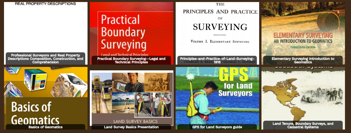 Land Surveyor Books