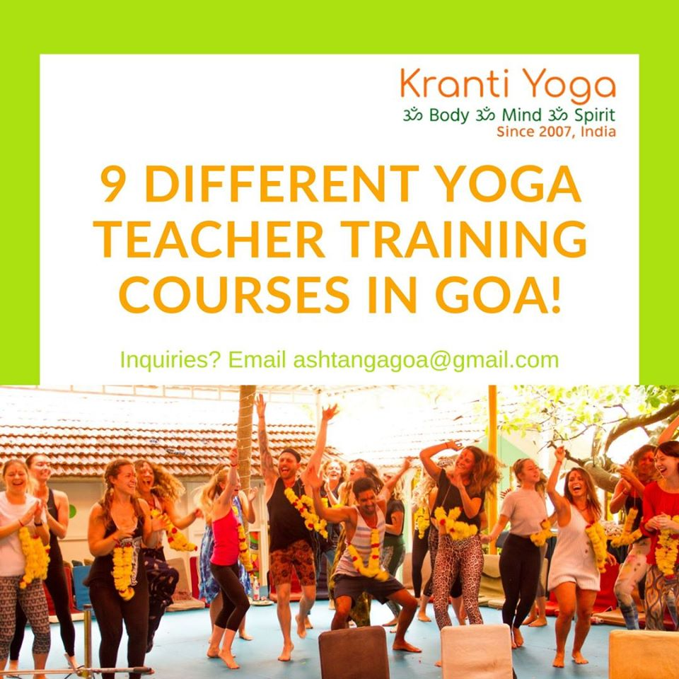 300 hour yoga teacher training course in Goa