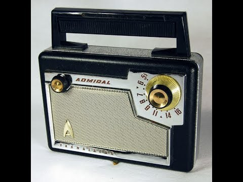 1957 Admiral Radio Hacked into an Atomic Guitar Amplifier
