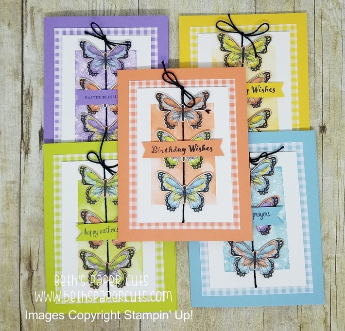 Botanical Butterfly and Gingham Gala DSP
