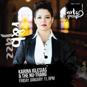 Karina Iglesias at Arts Garage Jan 11