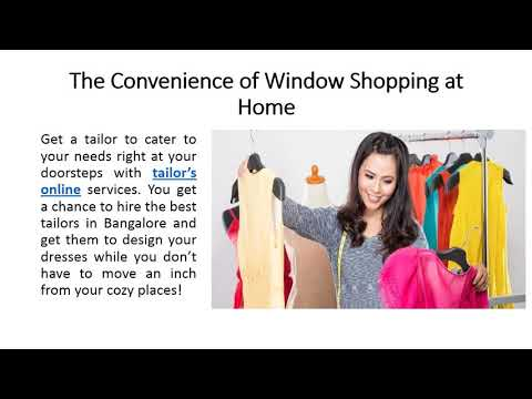 Why We need Online Tailors In Bangalore