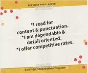 Content & punctuation