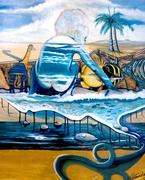 Surrealism. Beach Memories. Sold.