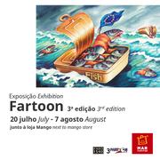 EXPOSIÇÃO: FARTOON regressa ao MAR Shopping Algarve com terceira edição inspirada nas migrações