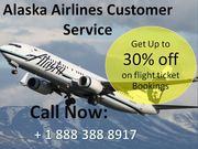 Dial Alaska reservation phone Number + 1 888 388 8917 toll-free