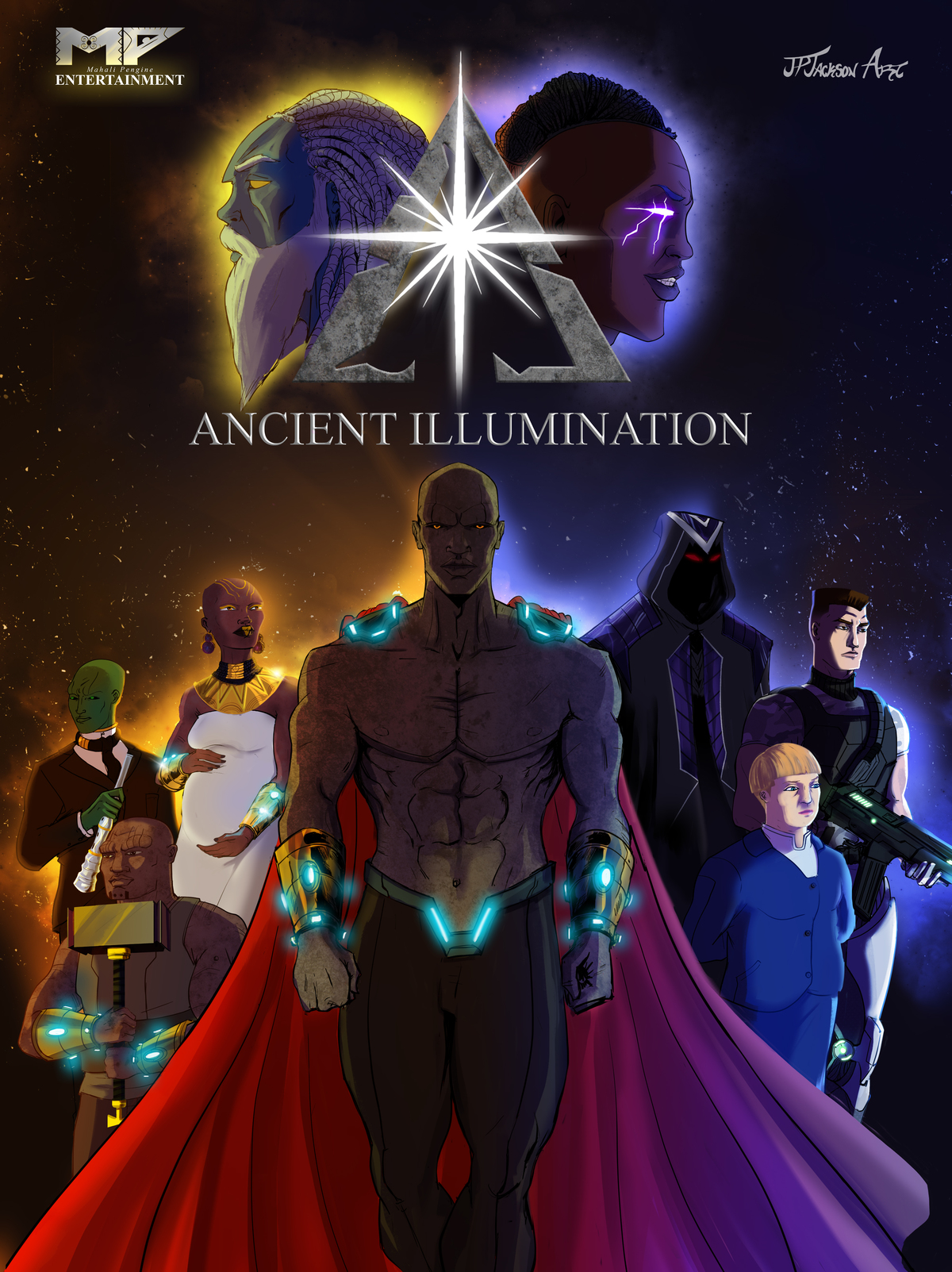Ancient Illumination Graphic Novel Volume 1!