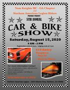 NKMC 5th Annual Car and Bike Show-Statham, GA
