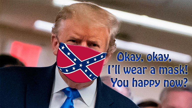 Trump's new mask