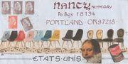sent to Nancy Nosegay