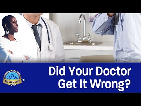 Did Your Doctor Get It WRONG? #EnvivoLIVE #Doctor