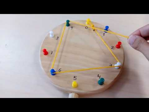 ...DIY: Tabla de multiplicar Waldorf...*...