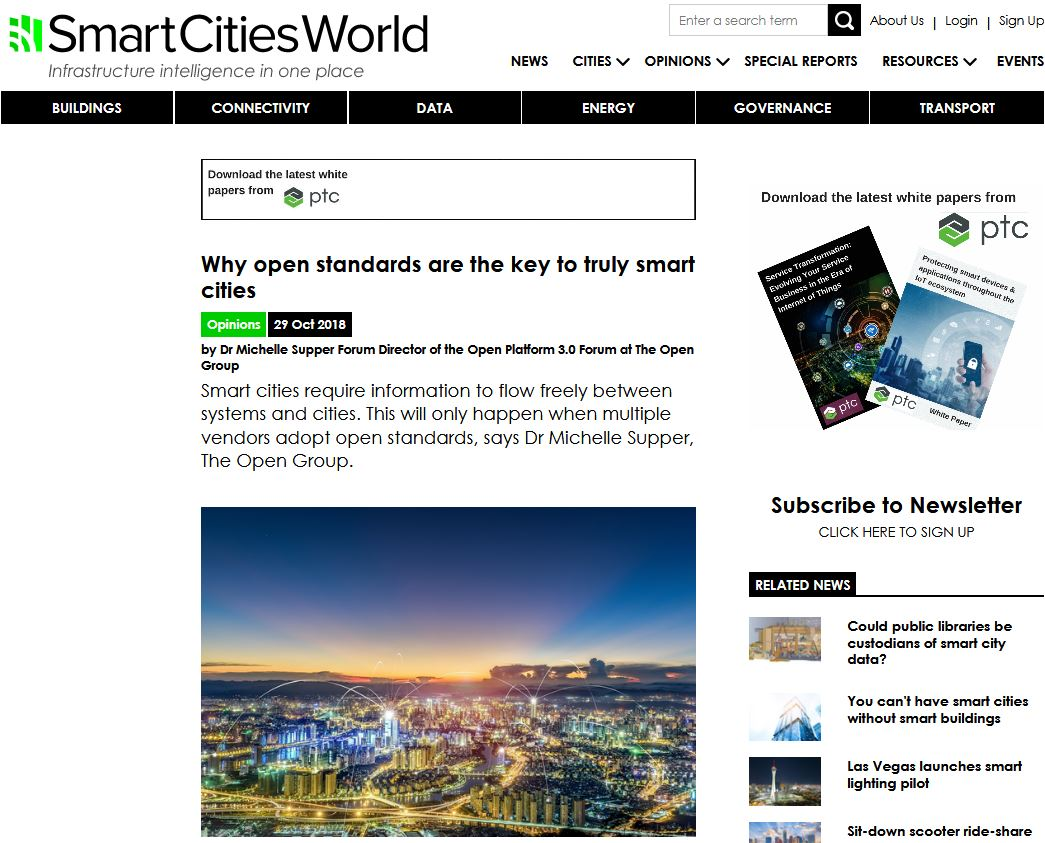 bIoTope featured in Smart Cities opinion article